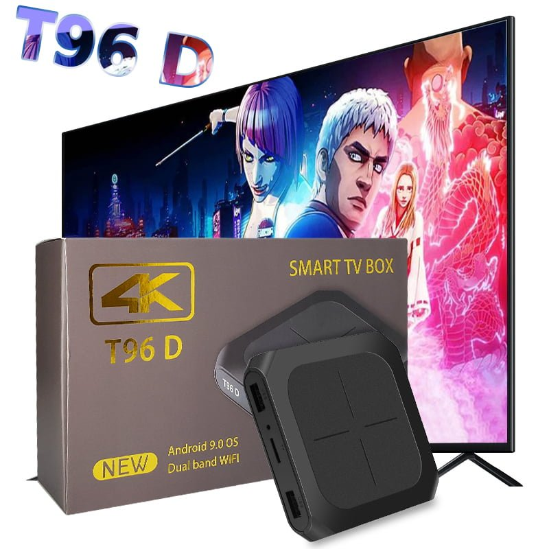 T96D Smart Tv Box Android 9.0 Amlogic S905W