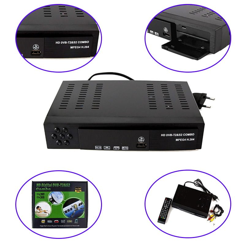 dvb t2 s2 combo digital receiver