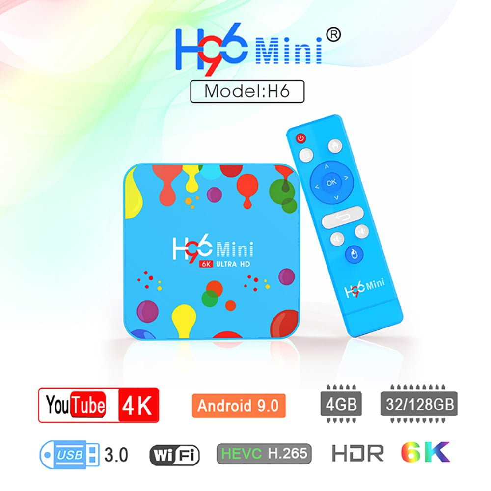 h96 mini h6 android tv box,  h96 mini h6 all winner h6