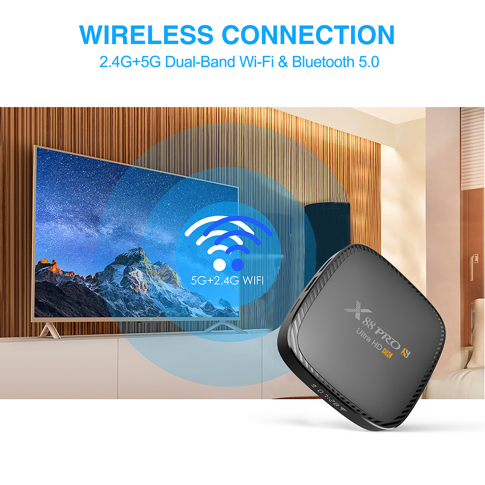 x88 pro s tv box 6k android 10 smart media player