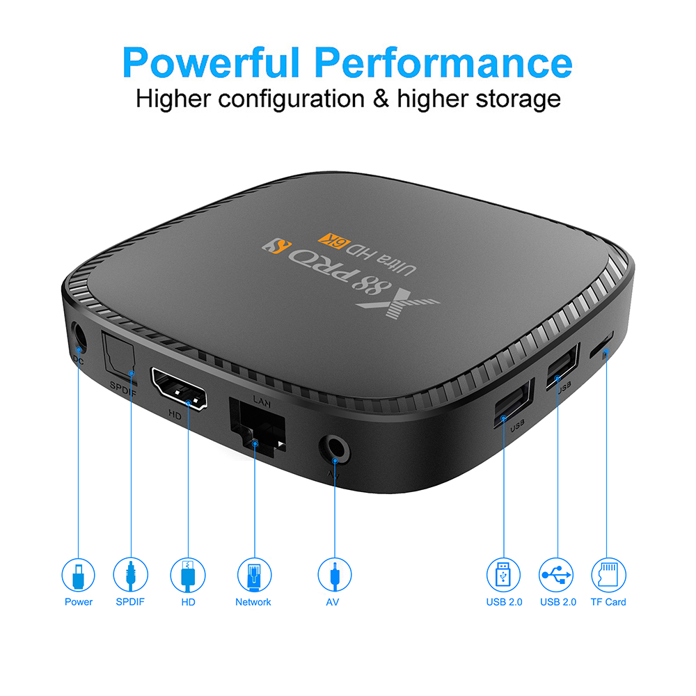 x88 pro s android 10 tv box 6k