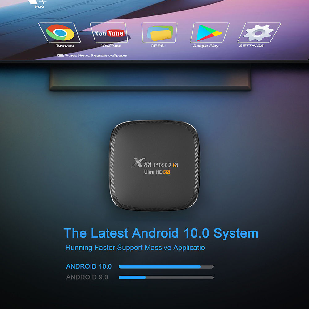 x88 pro s tv box android 10 6k