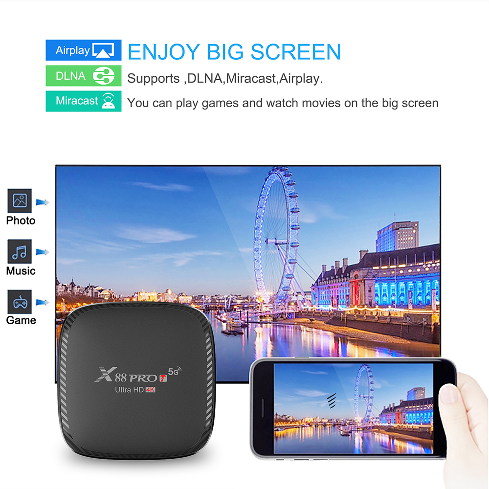 x88 pro t android 10 tv box