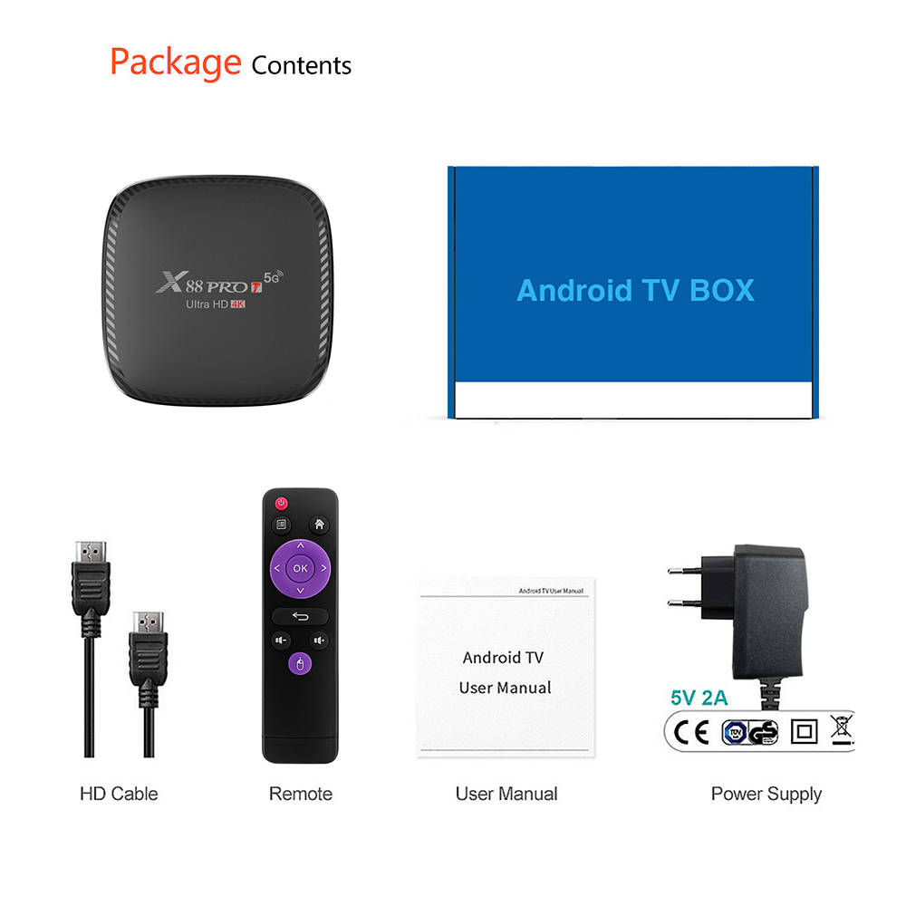 android 10 tv box 4k x88 pro t media player