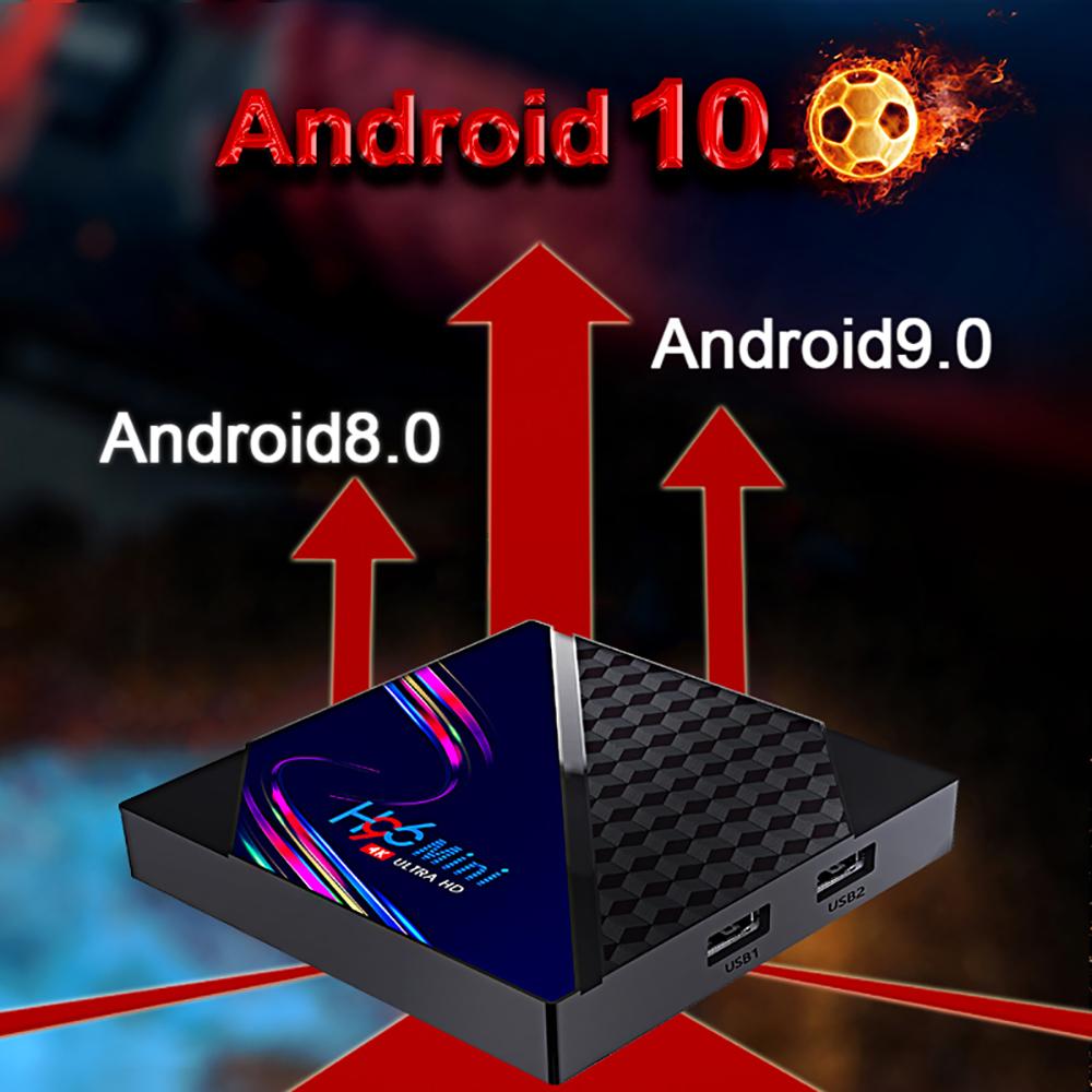 tv box h96, h96 mini v8 android 10, tv box android 10, smart tv box, settop tv box,