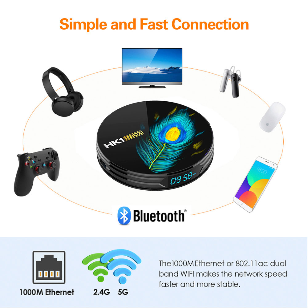 hk1 tv box android 11.0 rockchip rk3566 tvbox 8k