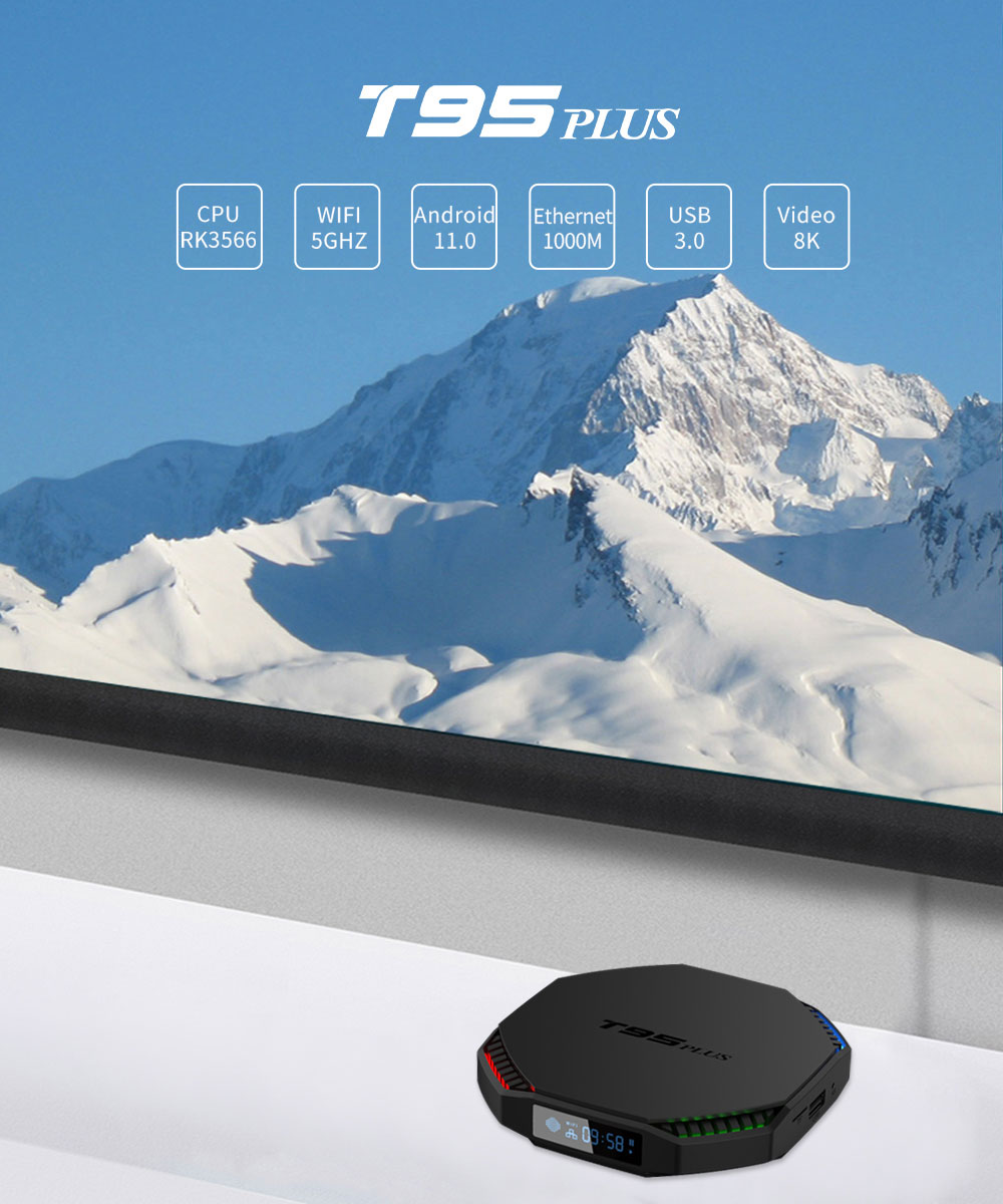 t95plus android 11.0 rk3566 firmware smart tv box